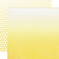 Бумага 30*30 см Yellow Ombre OMB11007
